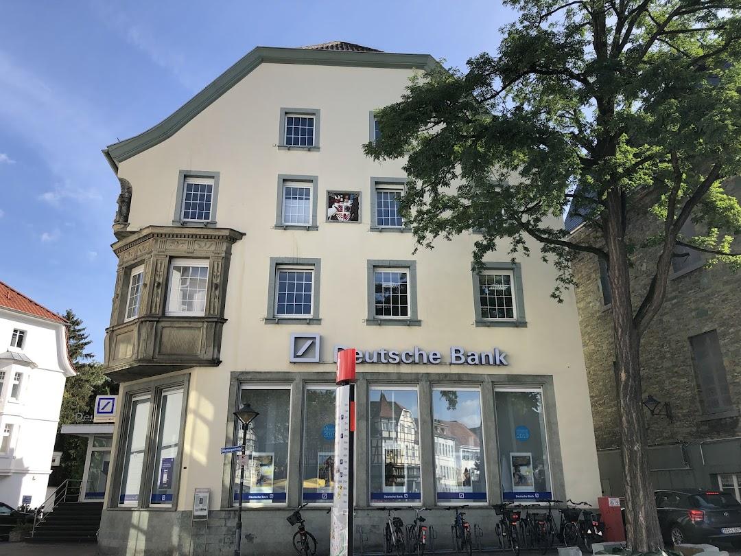 Deutsche Bank Filiale in der Stadt Soest
