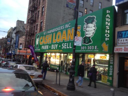 NY Pawnbrokers, Inc., 301 E 149th St, Bronx, NY 10451, Pawn Shop