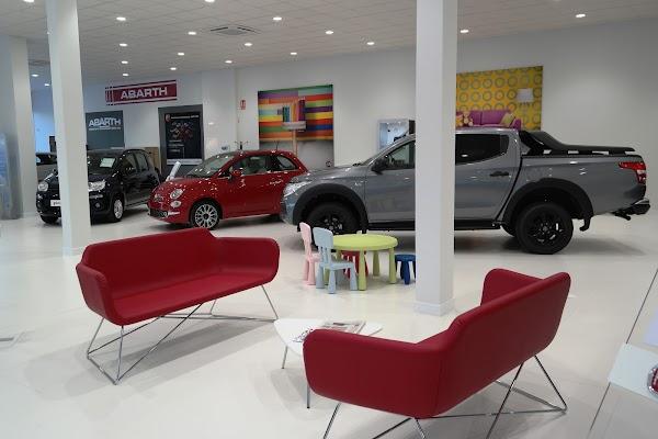 Alosauto concesionario Fiat, Fiat Industriales y Abarth