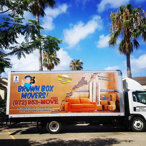 Brown Box Movers, 3825 Market St #119, Denton, TX 76209, Mover