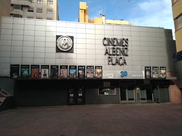 Cinemes Albniz Plaa