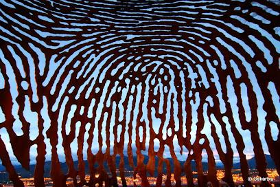 Fingerprint Sculpture