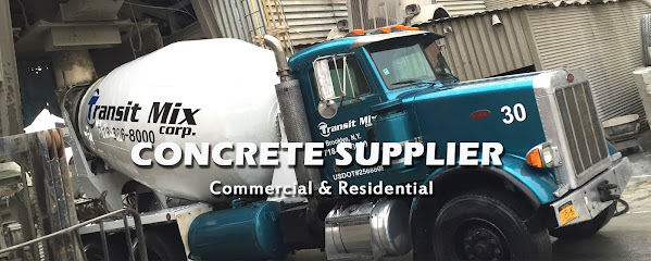 Ready mix concrete supplier Transit Mix Corp