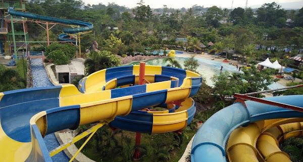 tempat wisata kolam renang  di kuningan