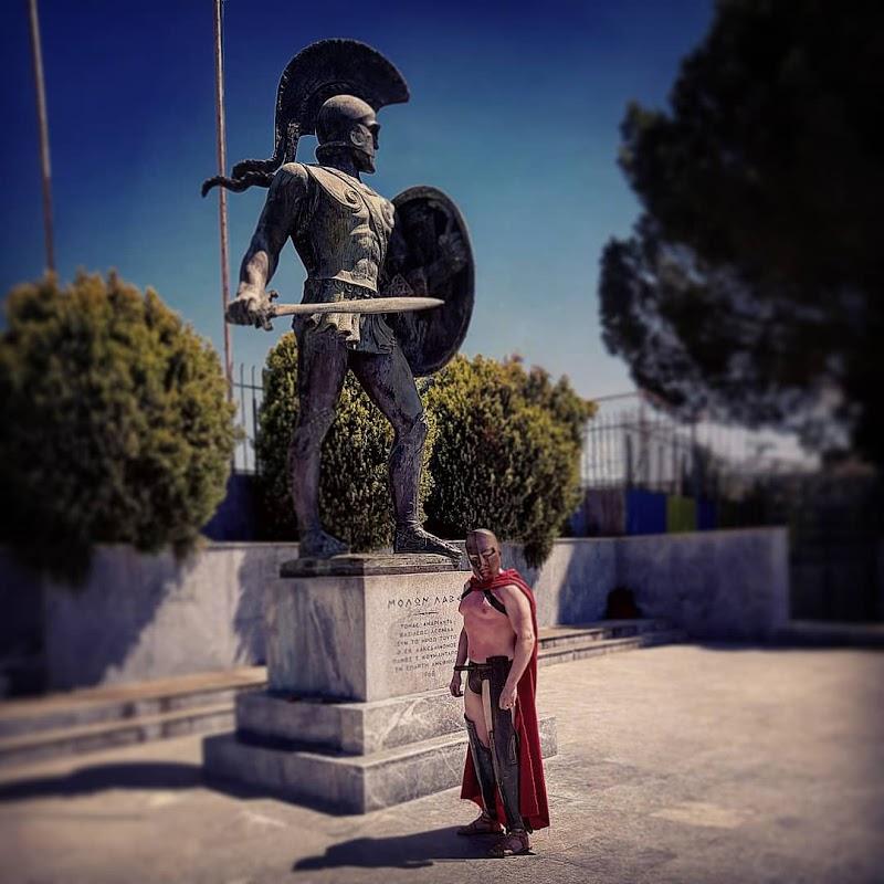 Статуя Леонида
