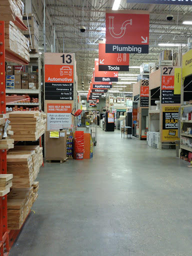 The Home Depot in New Orleans, Louisiana
