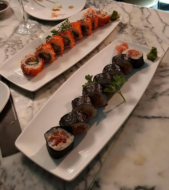 On sushi restaurant Carrer del Rosselló, 154, 08036 Barcelona