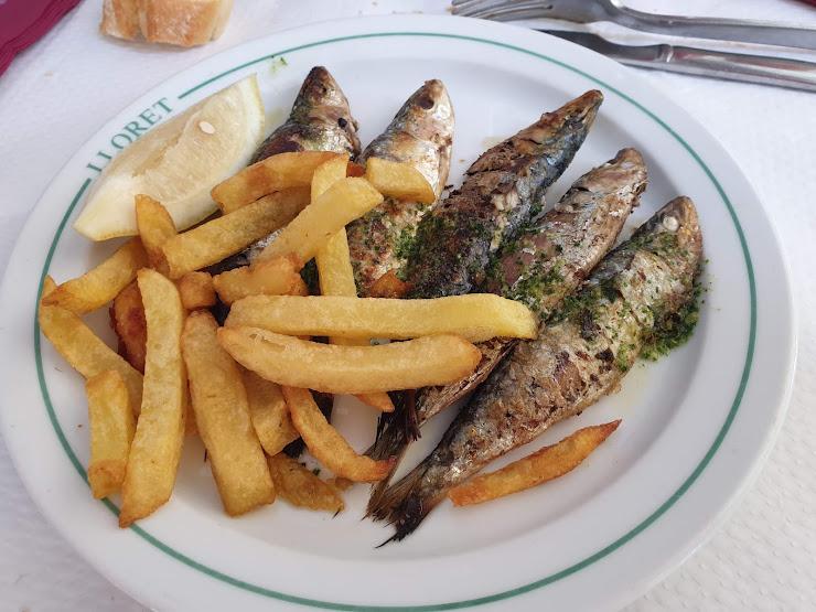 Restaurante Lloret Avinguda de la Constitució, 456, 08860 Castelldefels, Barcelona