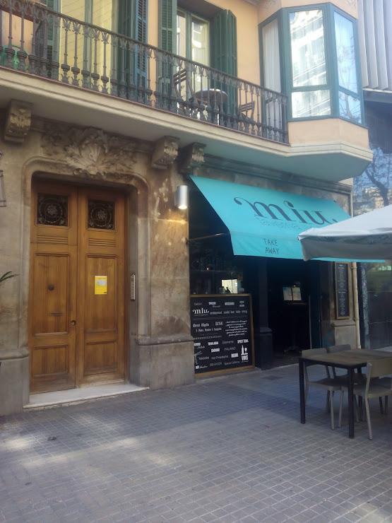 Taverna Miu Carrer d'Enric Granados, 23, 08007 Barcelona