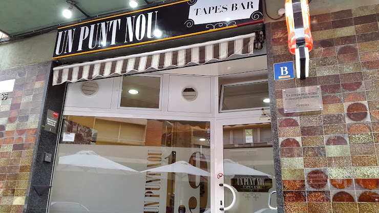 Un punt nou tapes bar Avinguda de Montserrat, 36, 08250 Sant Joan de Vilatorrada, Barcelona