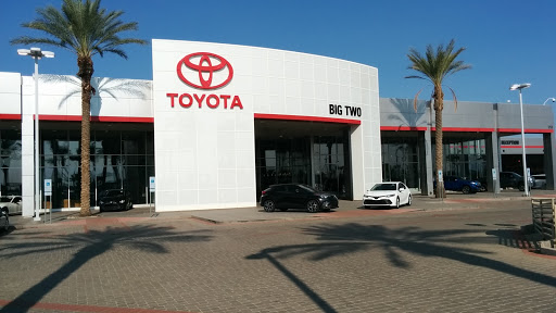 Superb Toyota Dealer «Big Two Toyota Of Chandler», Reviews And Photos, 1250 S  Gilbert Rd, ...