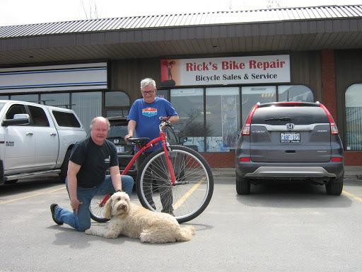 Réparation de moto Rick's Bike Repair à Kingston (ON) | AutoDir