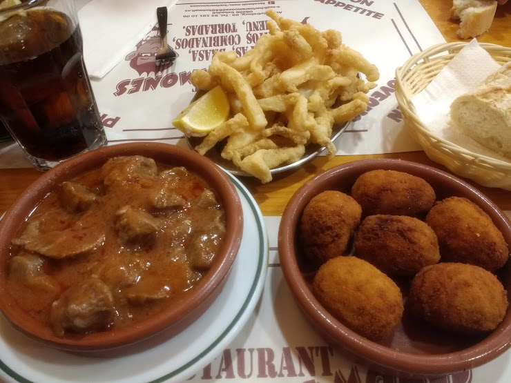 Bar Restaurante Los Ramones Avda. Estrasburgo, 69, 08206 Sabadell, Barcelona