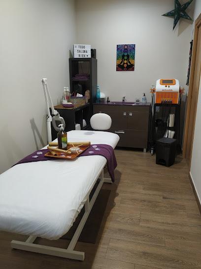imagen de masajista Centro Wellness Natura