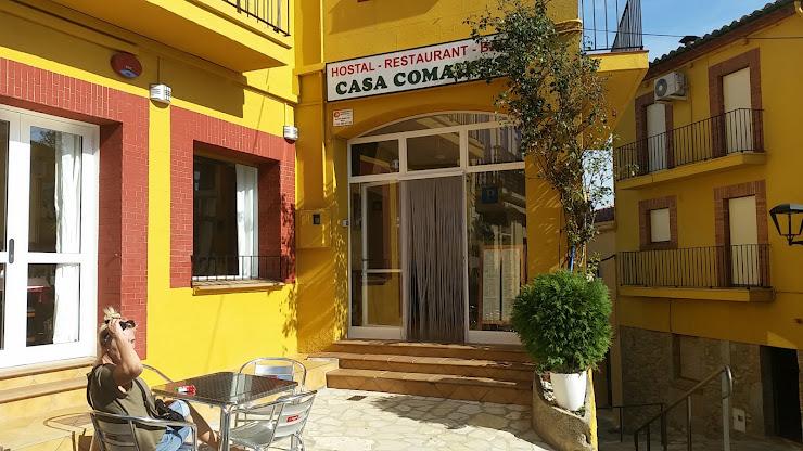 Restaurante Casa Comaulis Plaça Major, 3, 17707 La Vajol, Girona