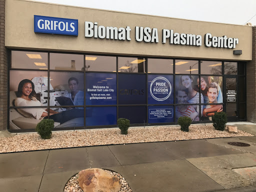 Biomat USA, 2520 W. 4700 South, Space 1 Bldg. A, Taylorsville, UT 84129, Blood Donation Center