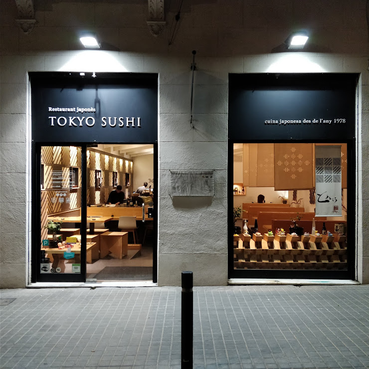 tokyo sushi gràcia Carrer de la Riera de Sant Miquel, 19, 08006 Barcelona