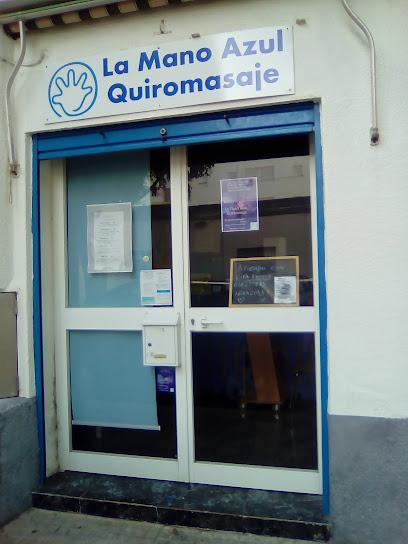 imagen de masajista La Mano Azul Quiromasaje