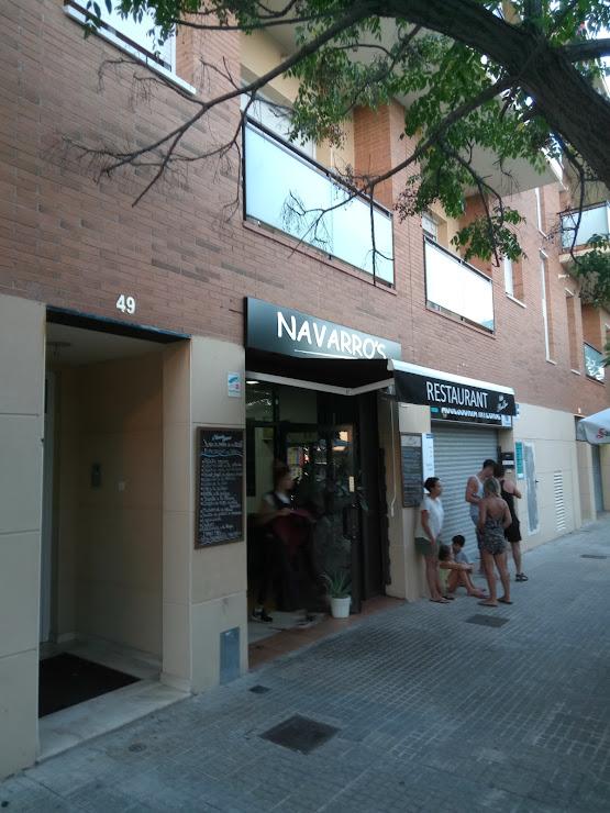 Restaurant Navarro's Av. Ronda de Mar, 49, 08720 Vilafranca del Penedès, Barcelona