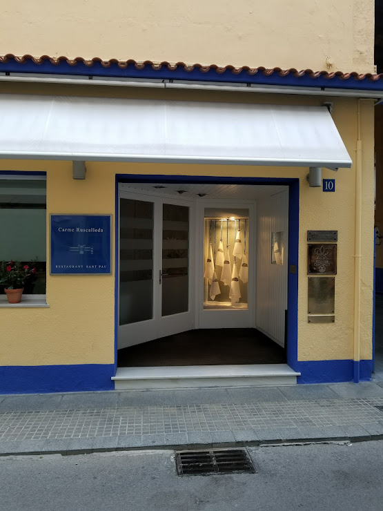 Restaurant Sant Pau Carrer Nou, 10, 08395 Sant Pol de Mar, Barcelona