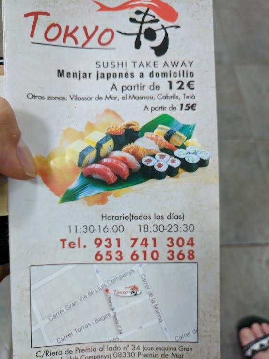 Tokyo Sushi Restaurante Carrer Anselm Clavé, 5, 08330 Premià de Mar, Barcelona
