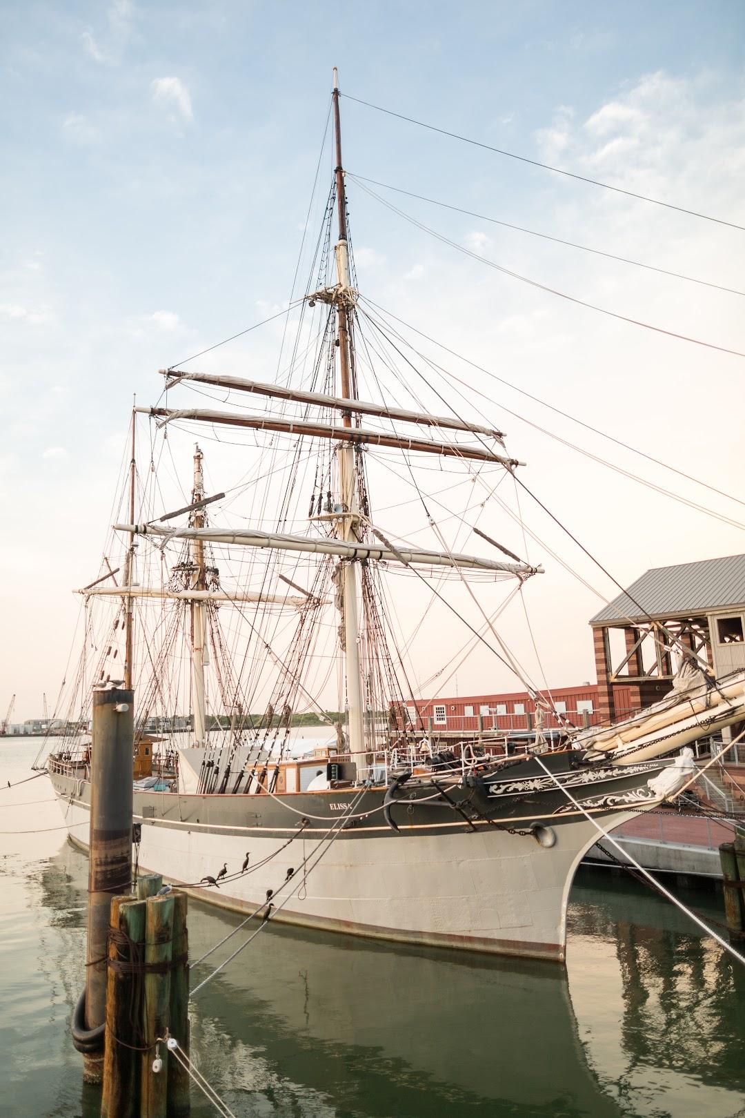 Galveston Historic Seaport - Home of the 1877 Tall Ship ELISSA