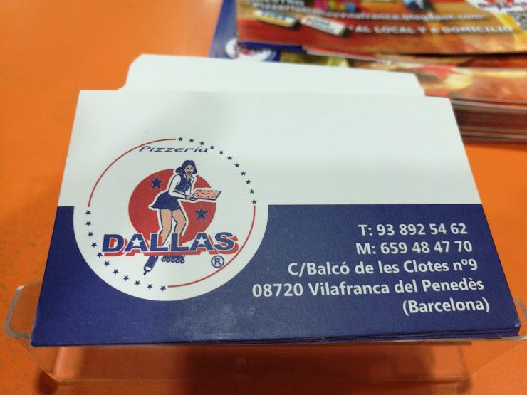 Pizzeria Dallas Vilafranca Passatge del Noucentisme, 34, 08720 Barcelona