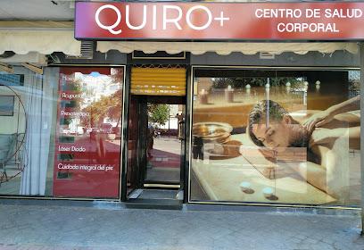 imagen de masajista Quiro+