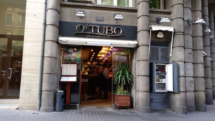 Restaurante O'Tubo Carrer del Comte d'Urgell, 148, 08011 Barcelona