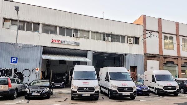 Alquiler de furgonetas y minibuses - Galan Rent a Car