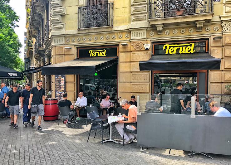 Restaurante Teruel Gran Via de les Corts Catalanes, 686, 08010 Barcelona