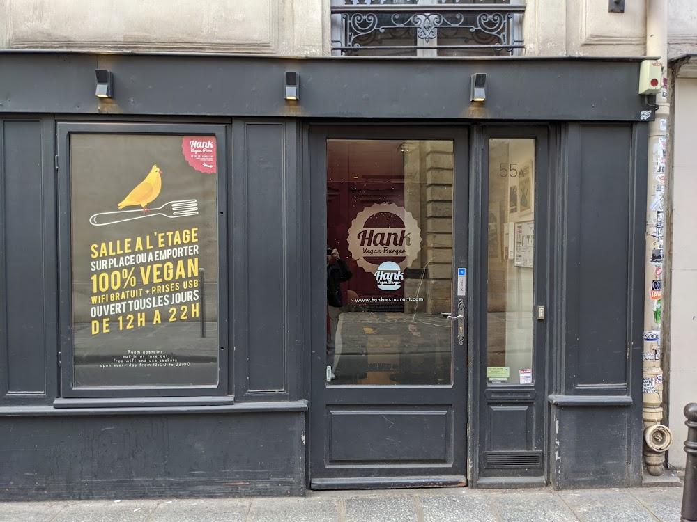 photo du resaurant Hank Burger Paris Archives