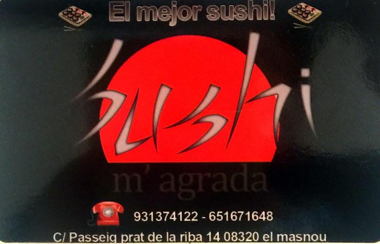Sushi m'agrada Av. Joan XXIII, 46, Carrer Almería, 10, y C, 08320 El Masnou, Barcelona