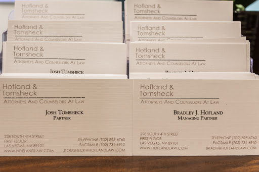 Law Firm «Hofland & Tomsheck», reviews and photos