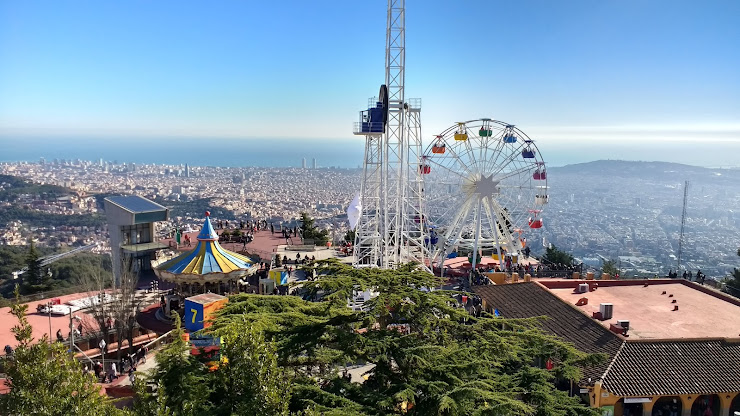 Parc d'Atraccions Tibidabo Plaça del Tibidabo, 3, 4, 08035 Barcelona