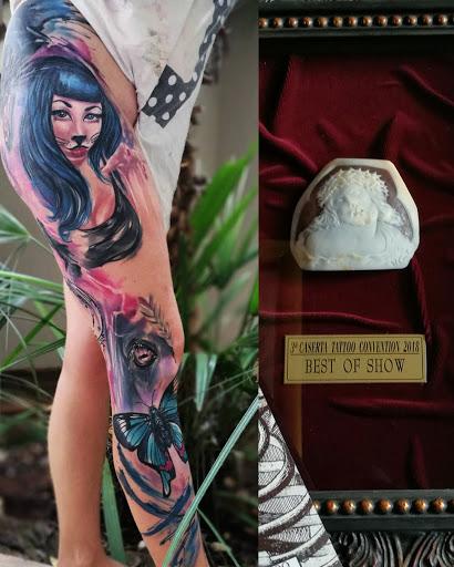Sweet Dama Tattoo