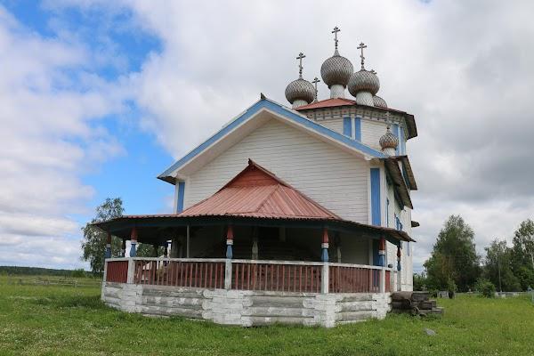 Магазин пиломатериалов «Лядины» в городе Каргополь, фотографии