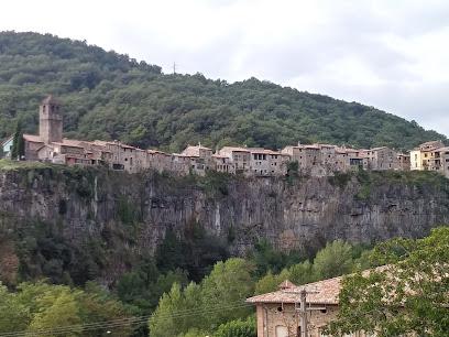 Passarel·la-mirador de Castellfollit de la Roca