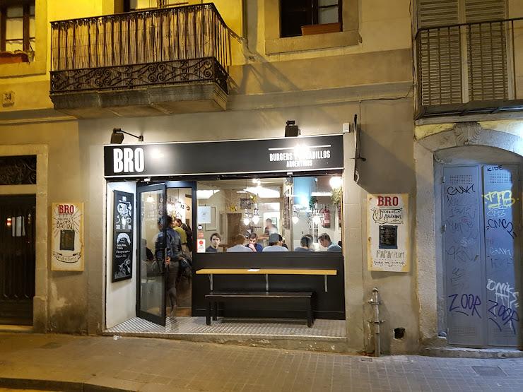 BRO Burgers y Bocatas Argentinos Carrer del Baluard, 34, 08003 Barcelona