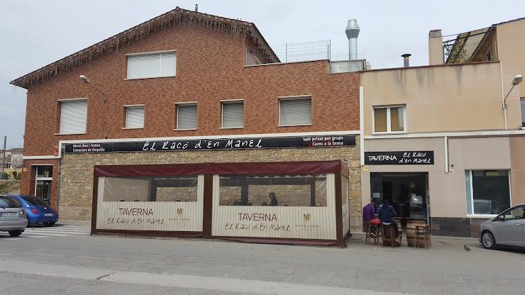 Taverna El Racó D'en Manel Av. del Secretari Canal, 08295 Sant Vicenç de Castellet, Barcelona
