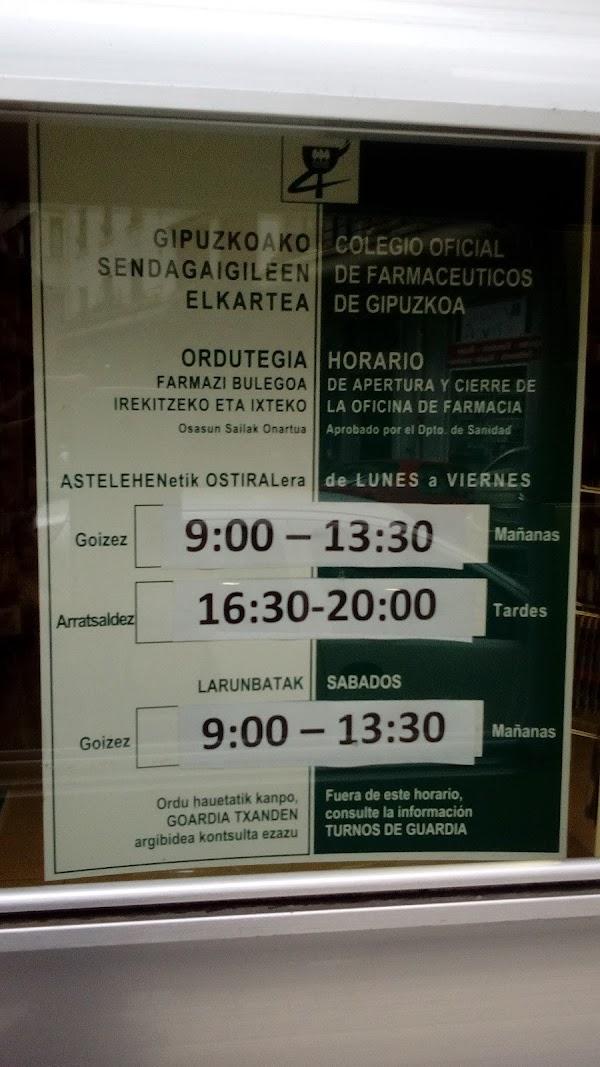 Farmacia Amagoia Beitia