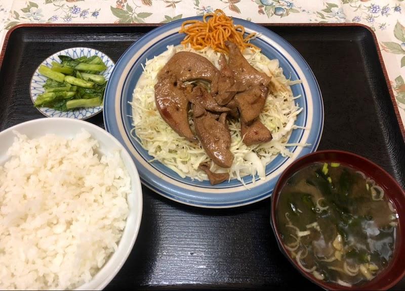 食事処 味栄(みさか) レバニラ炒め定食の写真