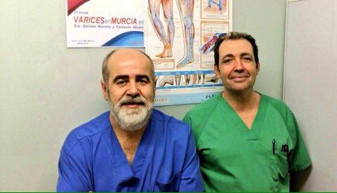 Dr.Germán Morales y Dr.Fernando Abadía - Varices en Murcia - Hosp de Molina