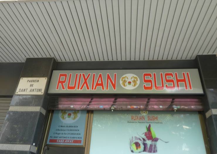 Ruixian Sushi Passeig de Sant Antoni, 8, 08014 Barcelona