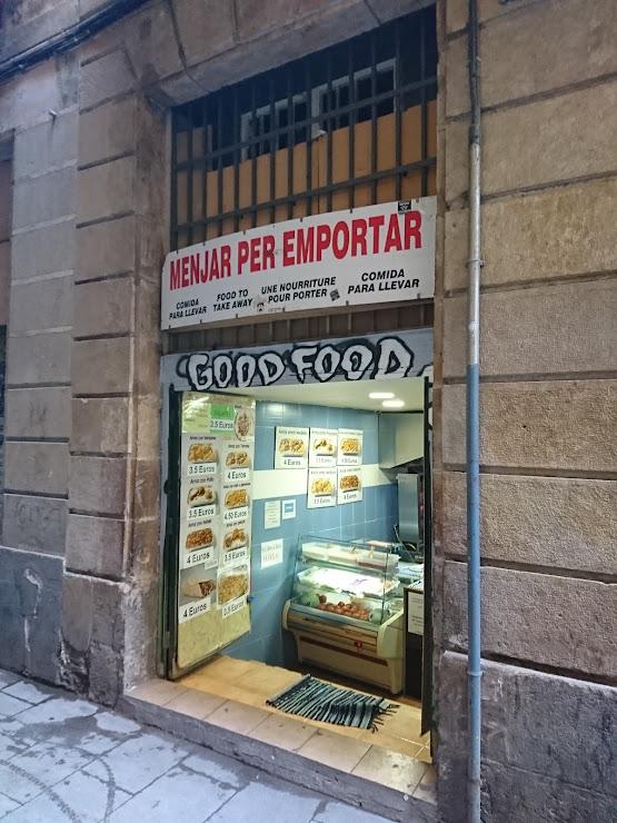 Menjar Per Emportar - Paki - Carrer dels Còdols, 7, 08002 Barcelona
