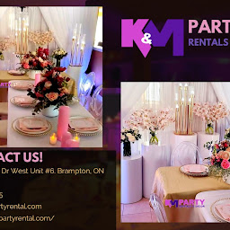 K&M Partyrental and Decor