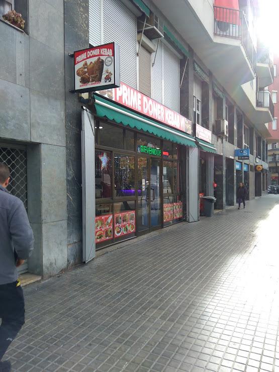 Prime Döner Kebab Carrer de Concepción Arenal, 85, 08027 Barcelona