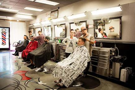 American Deluxe Barber Shop , Vista