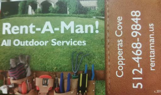 Rent-A-Man! outdoor services, Copperas Cove, TX, Landscaper