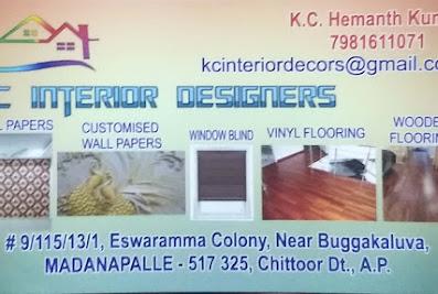 KC Interior DesignerMadanapalle